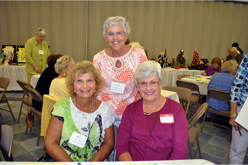 Donna Winter, Carolyn Varnum and Beverly Buckman