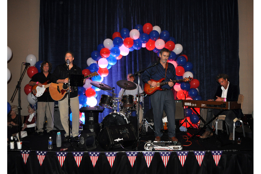 Kettle of Fish performed at the Republican Party of Sarasota Election Night Party Tuesday, Nov. 6, at the Hyatt in Sarasota.