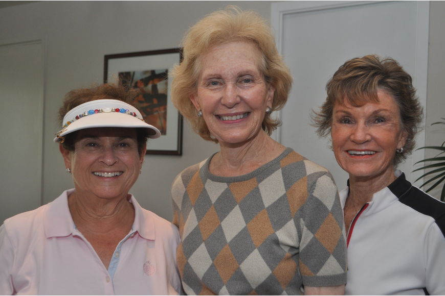 Joanie Cohen, Elaine Weill and Pat Anderson