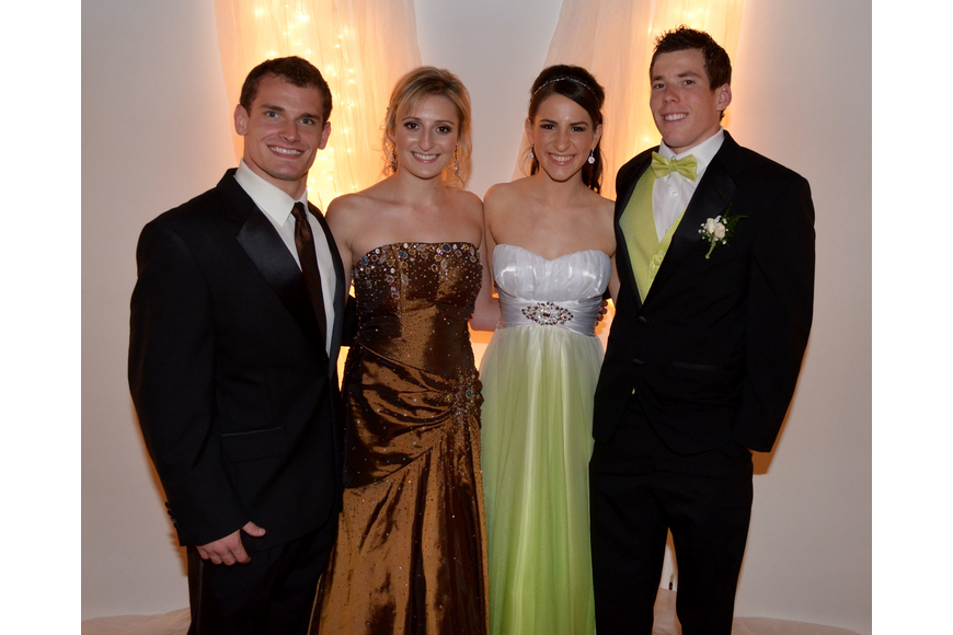 Ian Laidlaw, Brittany Gamelin, Alaina Upman and Logan Mayer