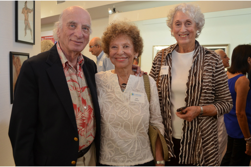 Dick and Julia Hyman with Ina Schnell