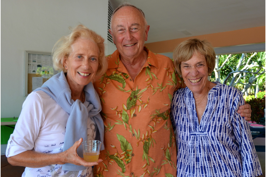Diana and Fred Emrich with Jane Perin
