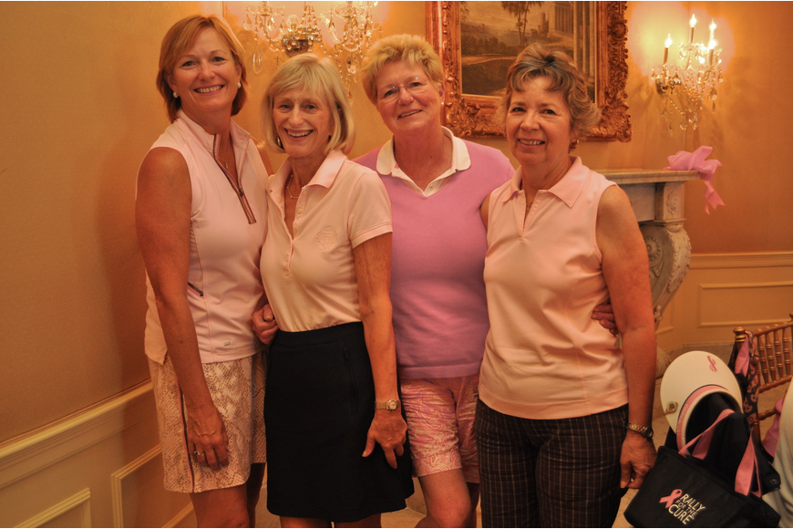 First place team Dianne Trevithick, Patricia Morris, Carol Boyd and Kathie Connelly