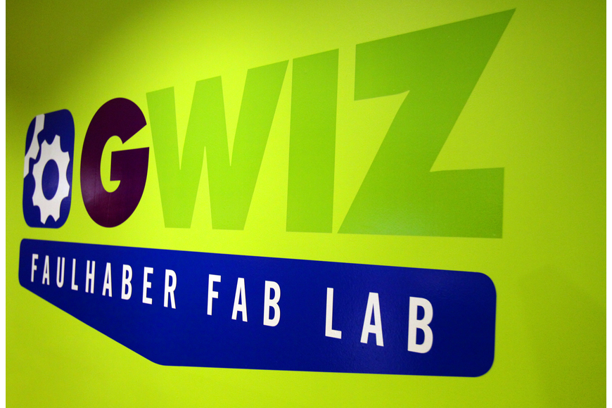 The Faulhaber Fab Lab had a grand opening event Thursday, May 5 at G. WIZ.