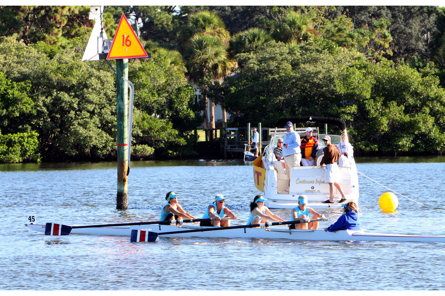 Lemon Bay came in fourth in the Womens Masters 4X division.