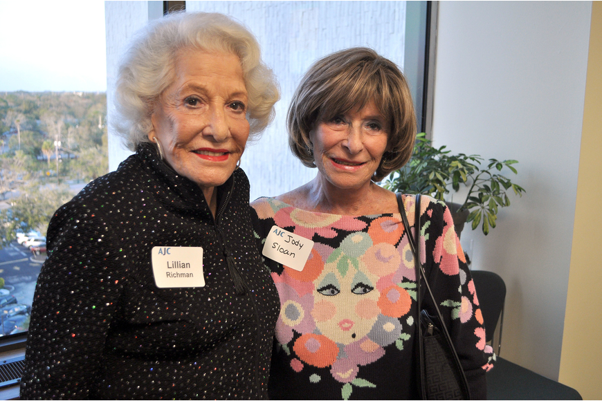 Lillian Richman and Judy Sloan