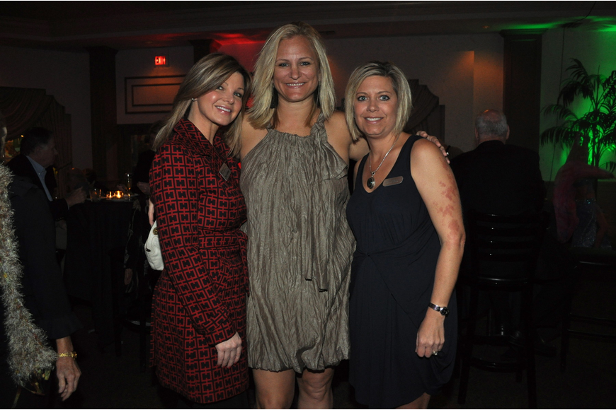 Katie Jordan, Admiral Travel co-owner Malaka Hilton and Jolene DiRocco