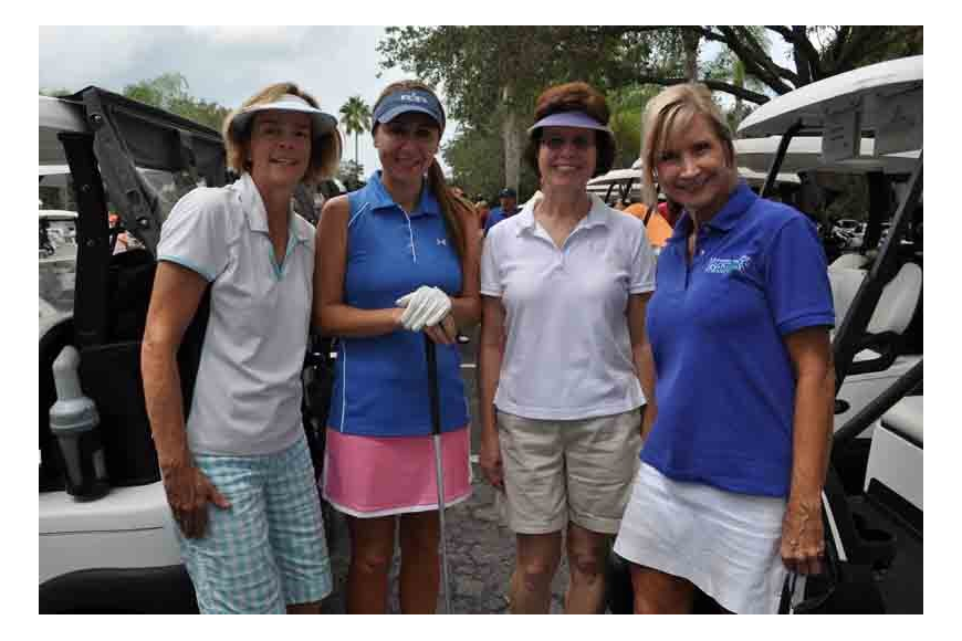 Gullett teacher Denise Touchberry, parent Julie Marra, teacher Barbara Pfeiffer and Principal Kathy Hayes played together.