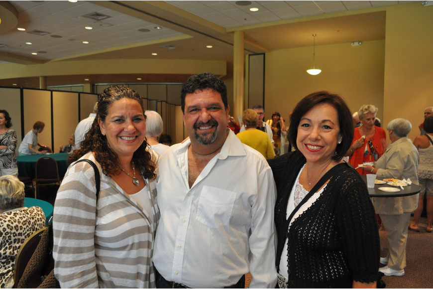 Julie Russo, Mark Zildjian and Aimee Metzger