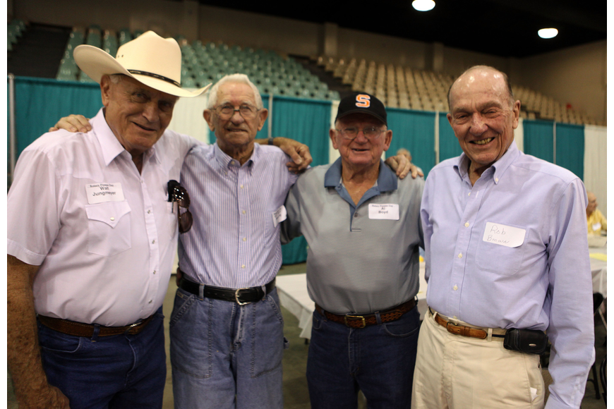 "Walt Jungmeyer, G.E. ""Buck"" Sweeting, Al Boyd and Rob Brown"