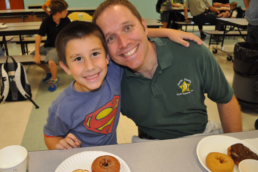 Ethan and John Vertich each started with two doughnuts.
