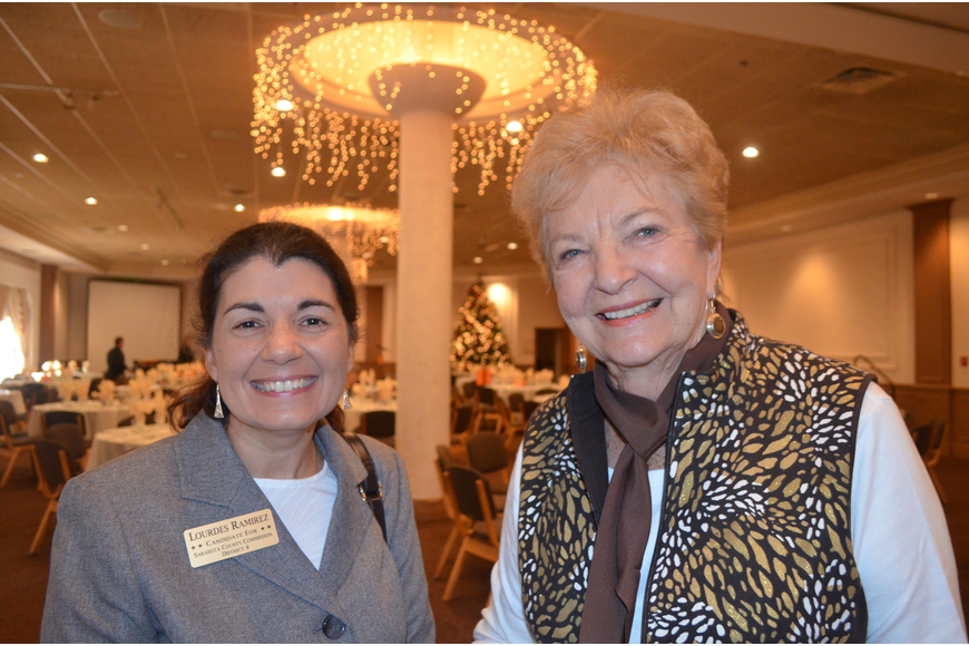 Lourdes Ramirez and Betty McGinnis