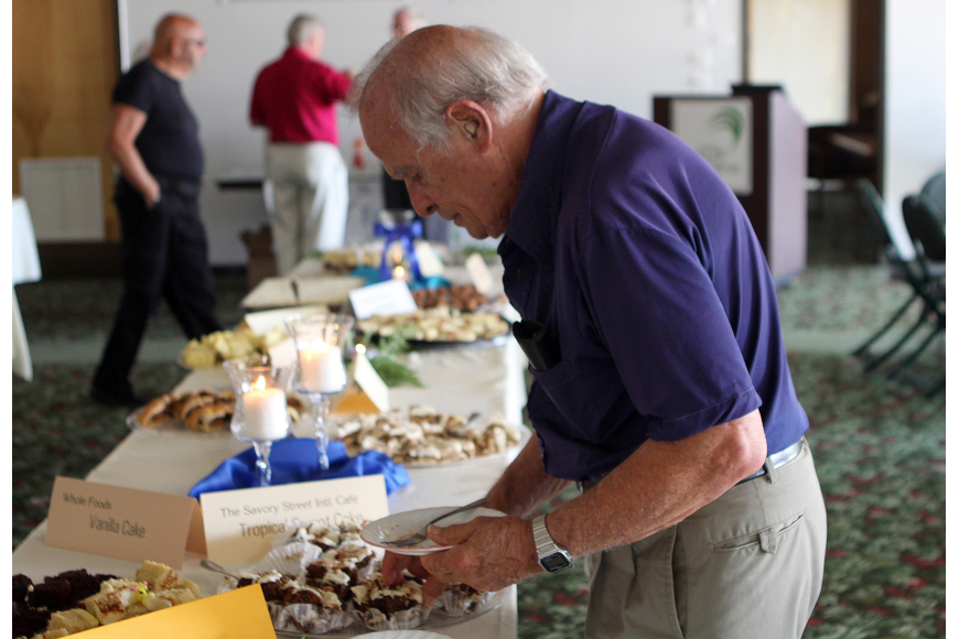 David S. Howard was one of the dessert judges for Family Promises' Third Annual Just Desserts event.