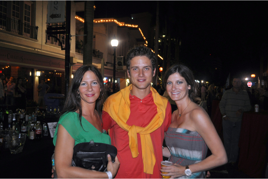 Heather Schafer, Tomas Milek and Chrissy Nash