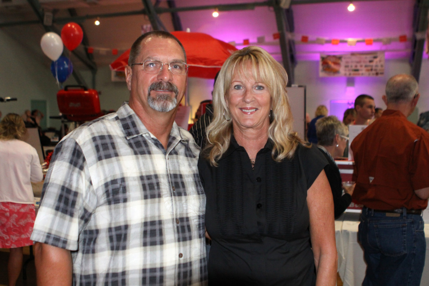 Ken Kreye and Julie Brown, volunteer festival chair