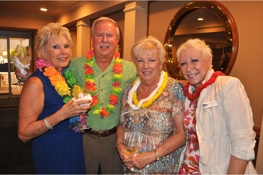 Judy and Duane Harms with Cynthia Stepp and Alexsandra Coles