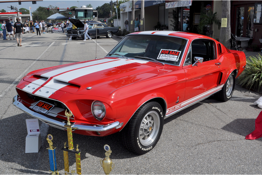A 1968 Shelby Mustang GT 350