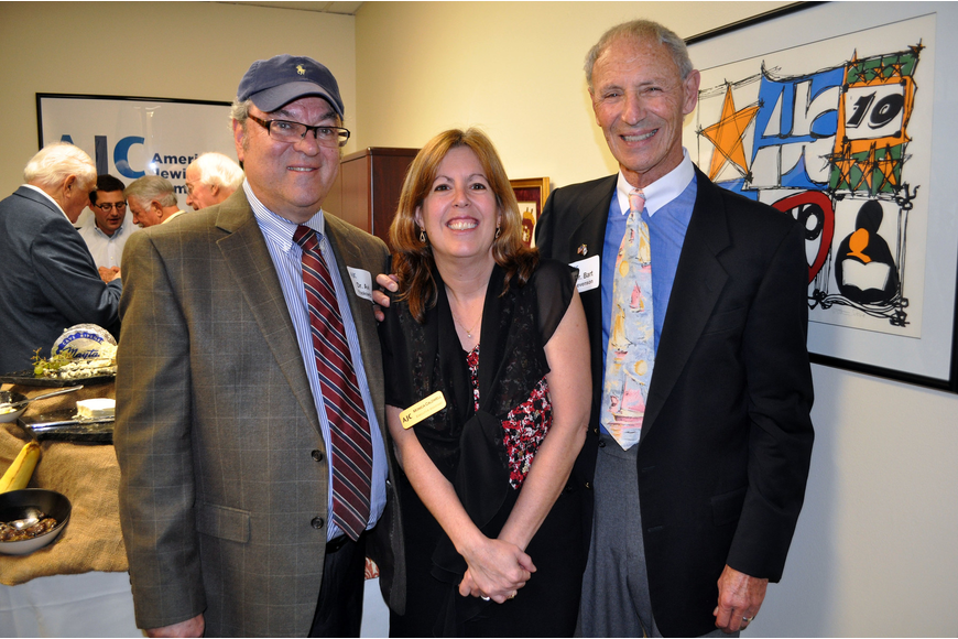 Dr. Avi Yoskowitz, Monica Caldwell and Dr. Bart Levenson