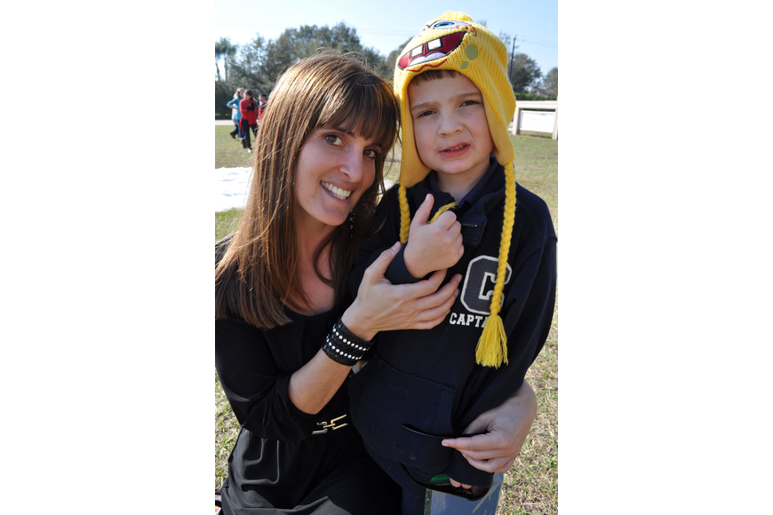 Amanda Panico enjoyed watching her son, Louis, 9.