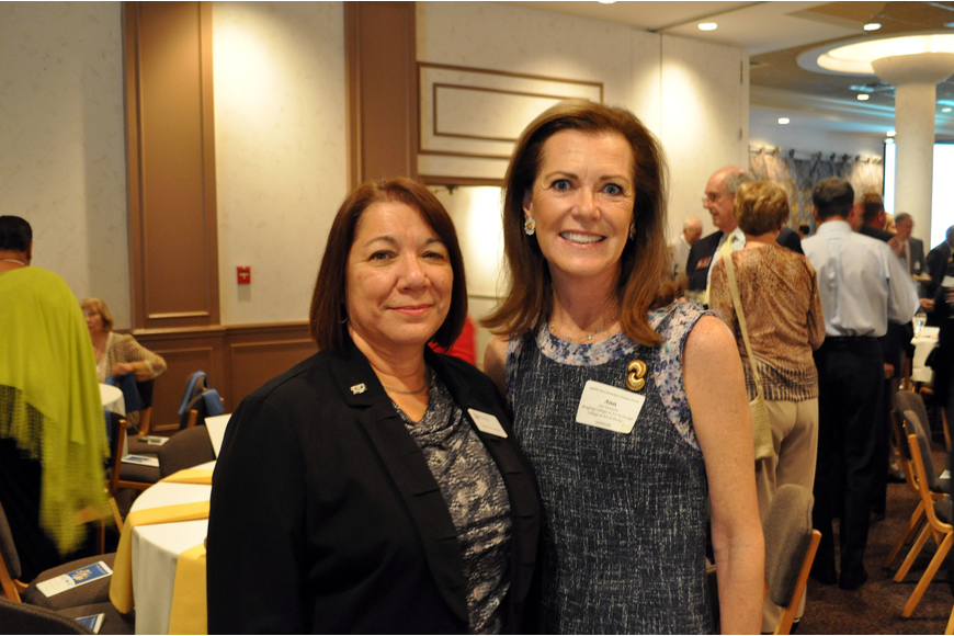 Sue Zimmerman and Ann Donnelly