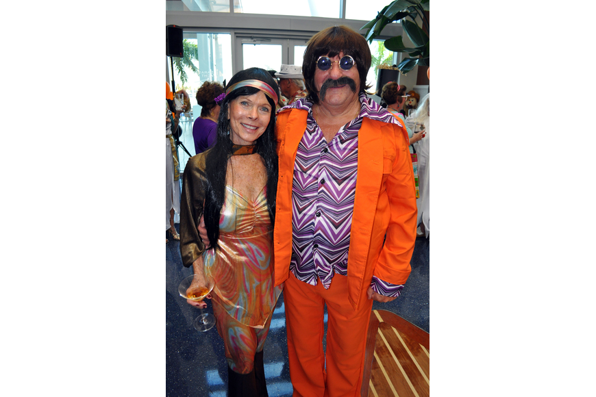 Marj Kirchner and Vito Calamita as Sonny and Cher.