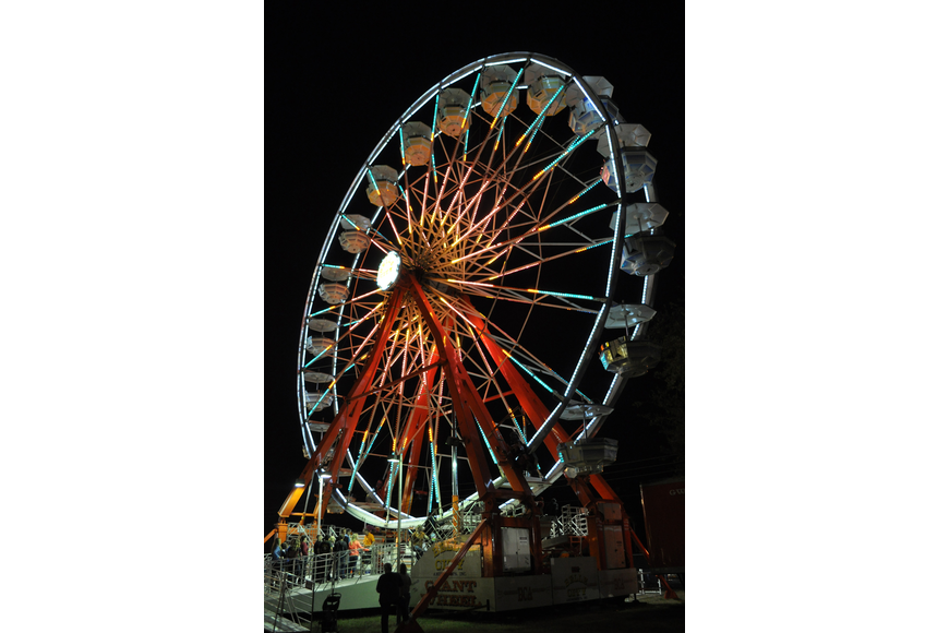 Attractions such as the Ferris wheel were a hit.