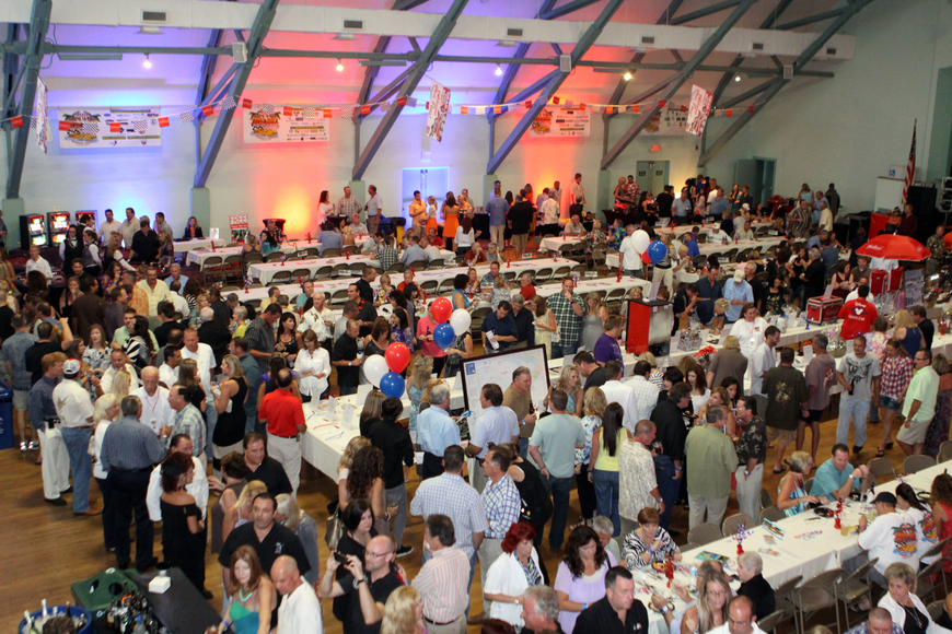 There was an estimated 800 people that attended the kickoff party, Saturday, June 23, at the Sarasota Municipal Auditorium.