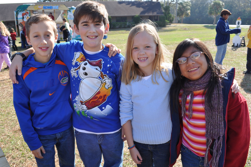 Joshua Cone, Ethan Perez, Molly Alderich and Emma Schultz are in the same third-grade class.