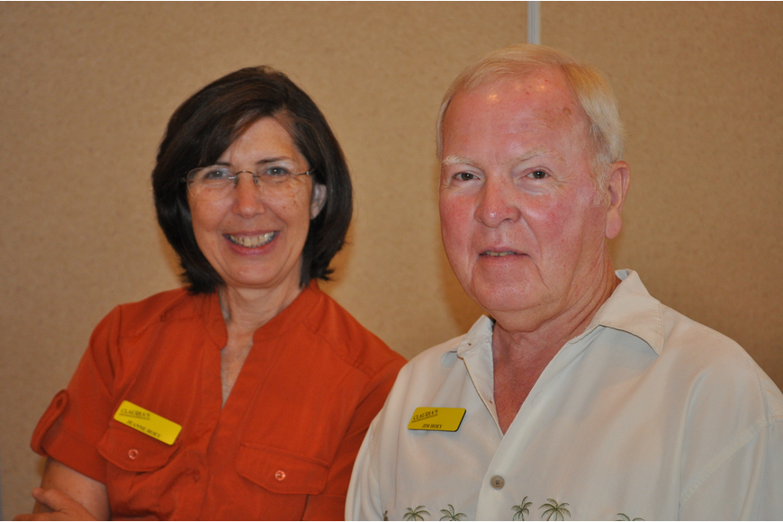 Jeanne and Jim Hoey