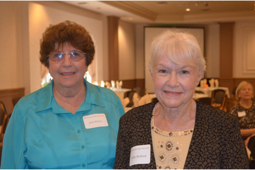 Julia Wilson and Kathy Rexford