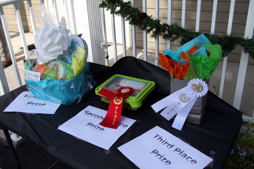 Each of the three categories of pies had a first, second and third place prize.