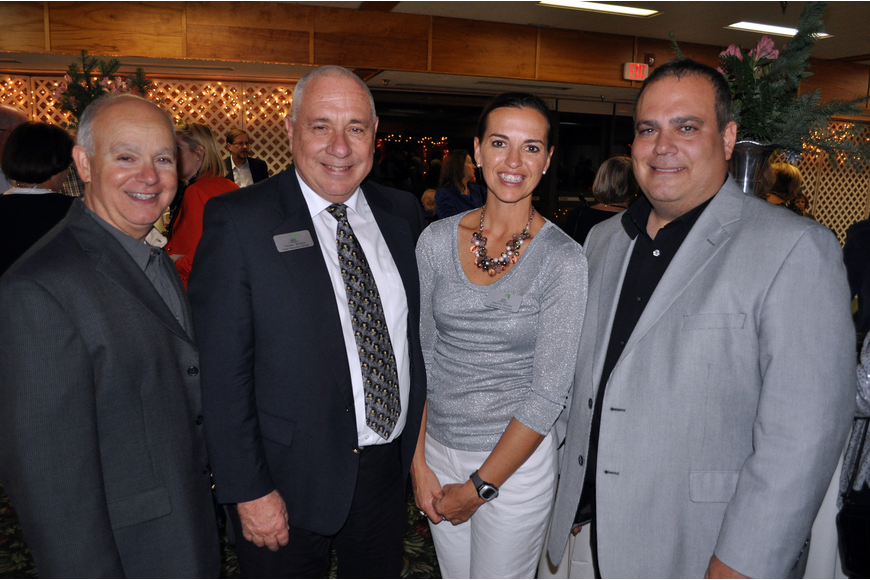 Jim Paone, Thomas Buchter, Jeannie Perales and Dave Muolo