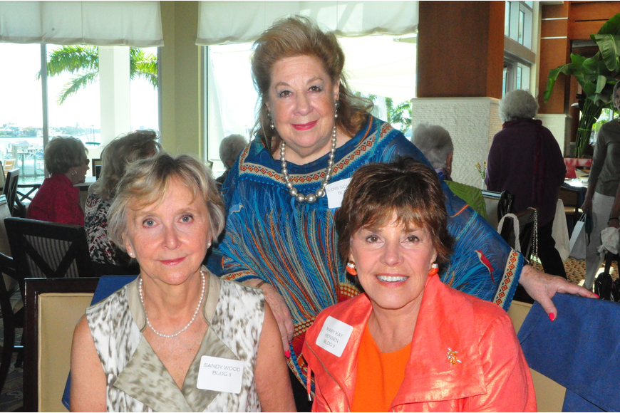 Sandy Wood, Lois Scheyer, Mary Kay Henson