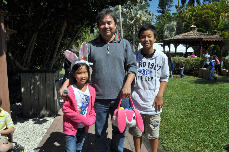 Annabelle, 7, Dat, and Daniel, 12, Truong