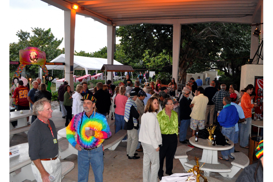Hundreds of people came out and caught disco fever at Sandfest 2011, Friday, Nov. 4, at Siesta Key Beach Pavilion.