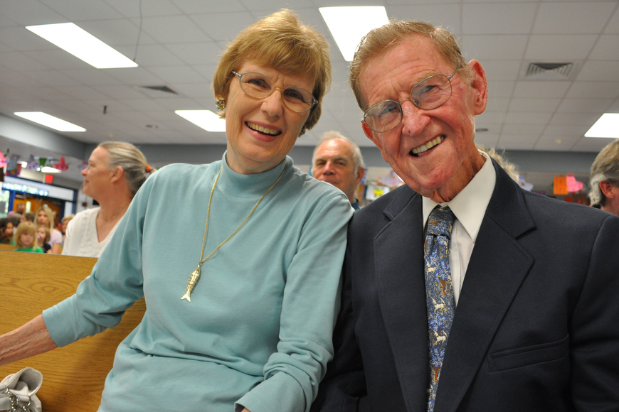 Betty and Dr. William Bashaw, the school's namesake, attended.