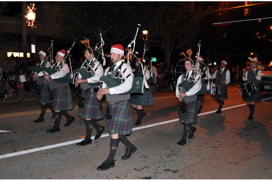 The City of Sarasota Pipe Band