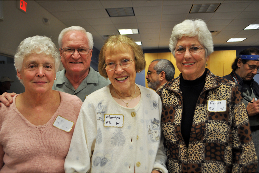 Peggy Stoutton, Vaun Mcahren, Marilyn Gabriel and Fran Vanvoorhis