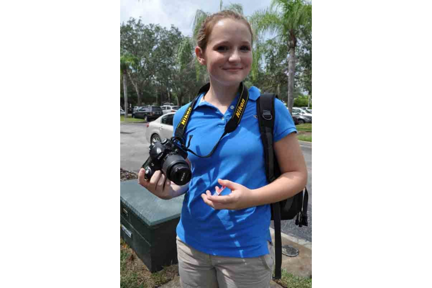 Out-of-Door Academy student Abby Bannar, 14, took pictures of the event.