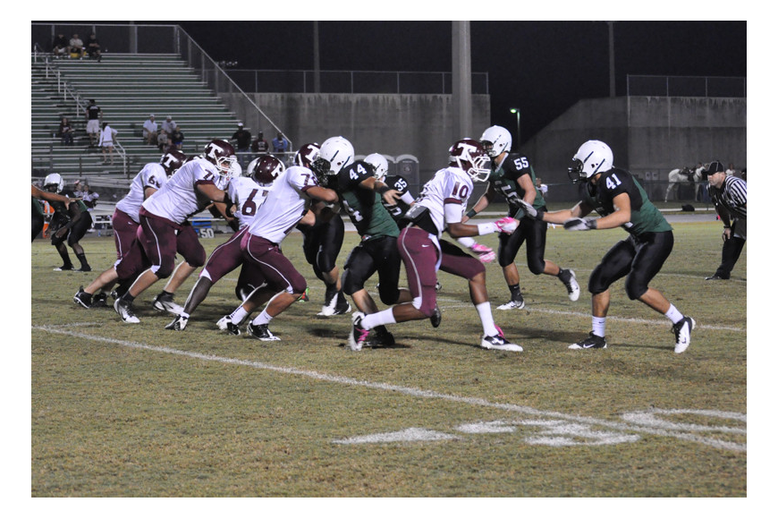 The Mustangs took on Tarpon Springs for their Homecoming match-up.