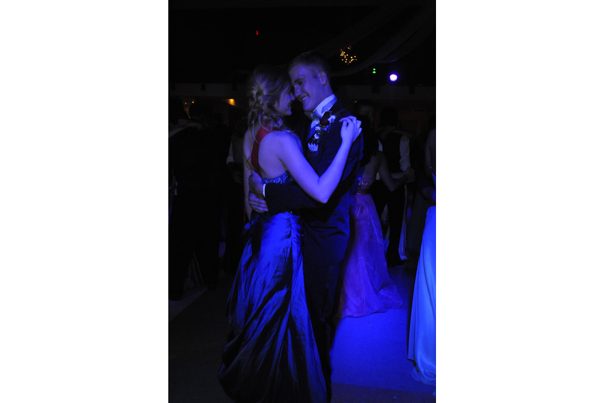 Prom Queen Emily Melchior and her best friend Allick Jorgensen have been dating for 13 months.