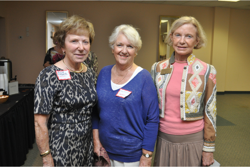 Ellie Faber, Nancy Whitacre and Eleanor Williams