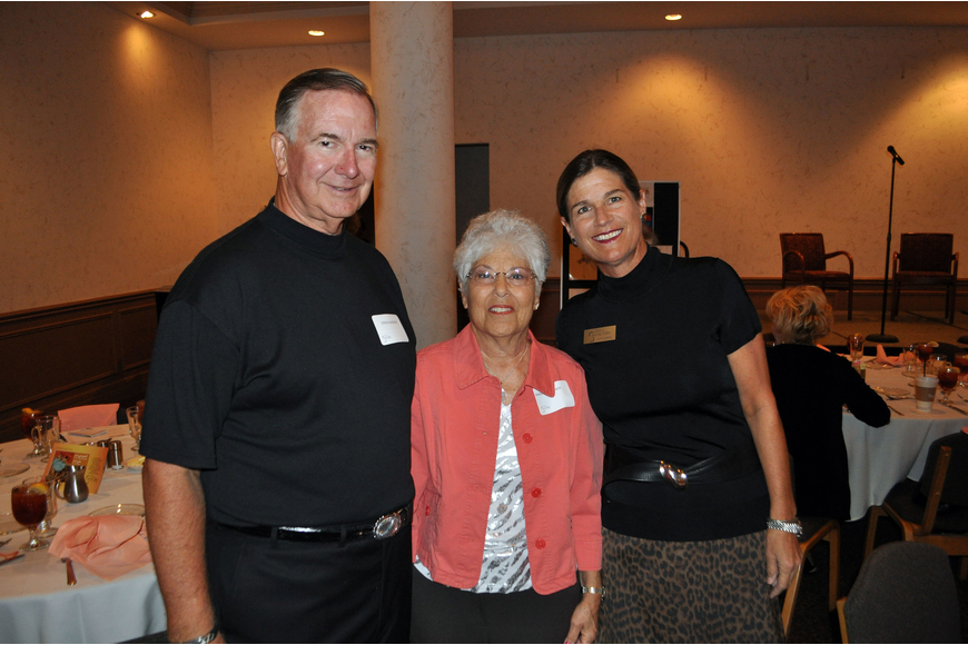 Steve Almquist, Marsha Chernick and Lucia Almquist