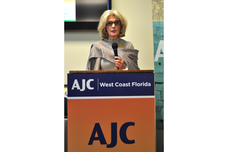 Newly appointed AJC West Coast Florida president Anne Virag