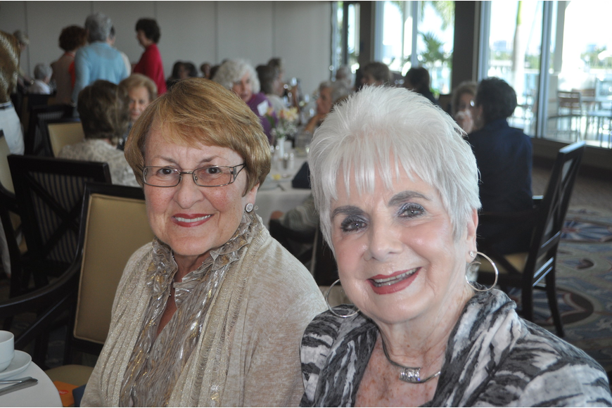 Kathy Orr and Mary Beth Leonard