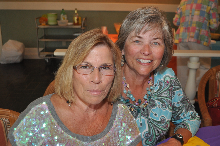 "Fran Bogue and Connie Jones came as ""just fabulous."""