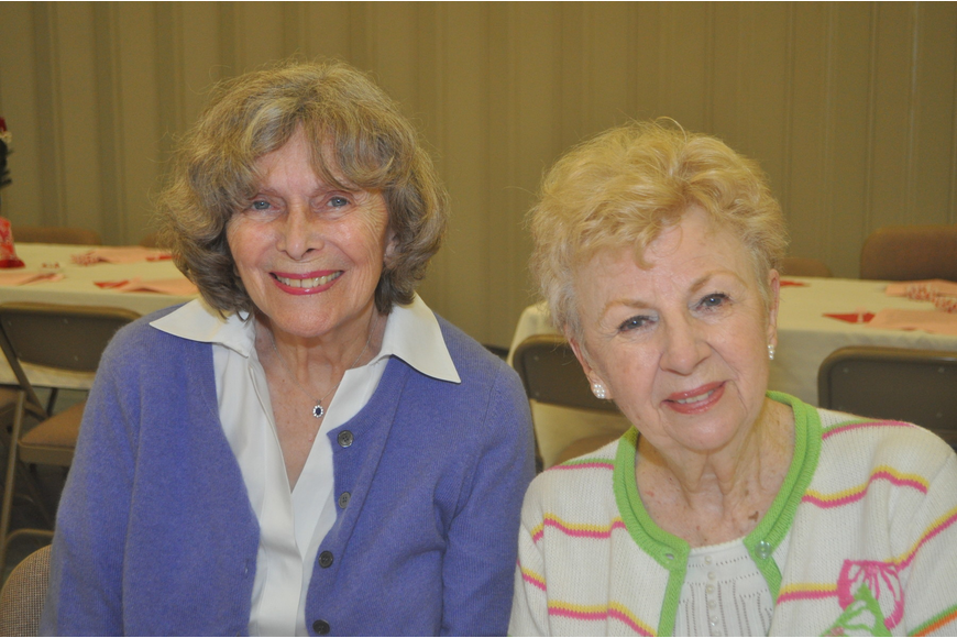 Marie Bowyer and Joan Gaul