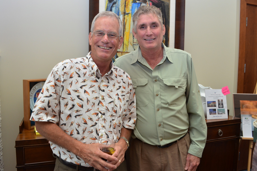 Dr. Jay Leverone and Jon Thaxton