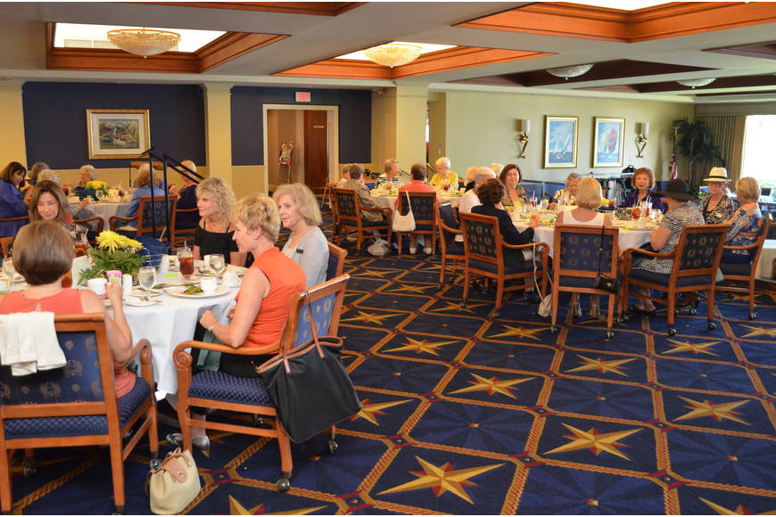 Members enjoyed a style show and luncheon Thursday, Sept. 26, at Bird Key Yacht Club.