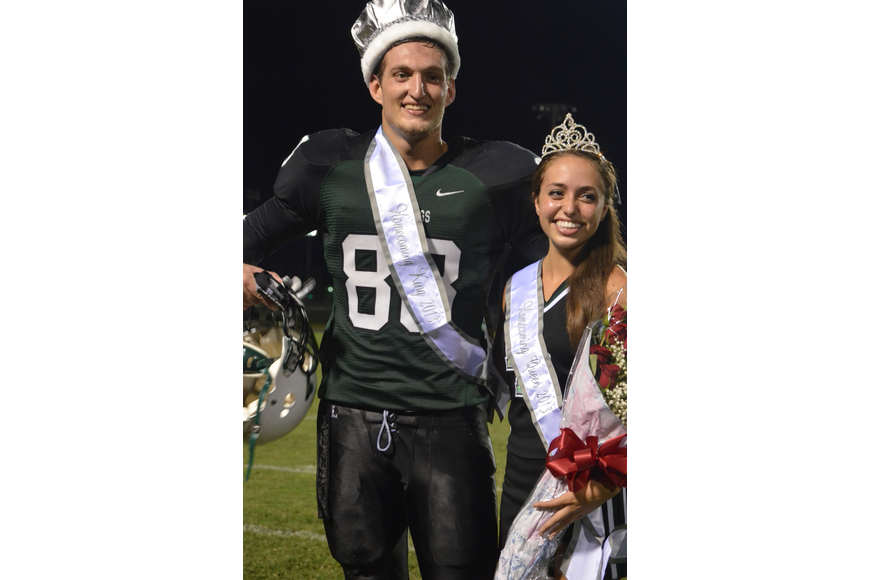 King and Queen are Wyatt Mcleod and Marina Masterson